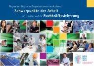 Wegweiser Deutsche Organisationen im Ausland - Bundesagentur ...