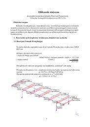 Obliczenia statyczne