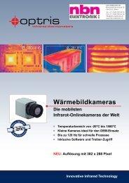 NEU: Auflösung mit 382 x 288 Pixel Innovative Infrared ... - Optris