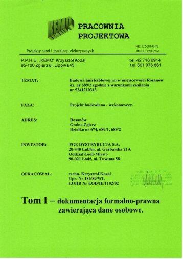 PRACOWNIA - PGE Dystrybucja SA
