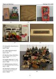 Puppen und Spielzeug Samstag, 20. 03. 2010