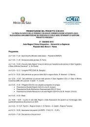 Programma GCA ROMA 21 GIUGNO 2012 - Simferweb.net