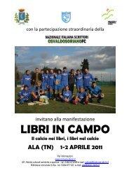 LIBRI IN CAMPO - Nazionale Italiana Scrittori