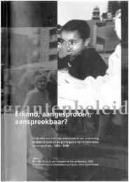download the report here - Anja van Heelsum - Universiteit van ...