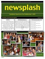 December newsplash - Club Assistant