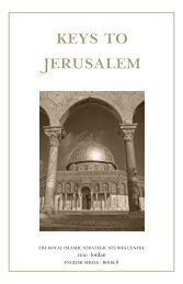 Keys to Jerusalem - The Royal Islamic Strategic Studies Centre
