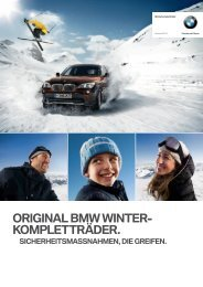 perfekt ausgerüstet in den winter. - BMW Niederlassung Bonn