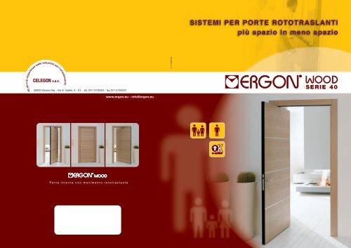 Sistema Rototraslante Per Porte.Serie 40 Celegon S A S
