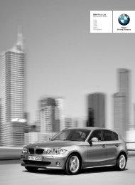 BMW Price List September 2005 - 1 Series Sports Hatch (5-door)