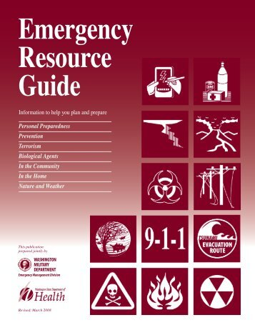 Emergency Resource Guide - Pacific County Government