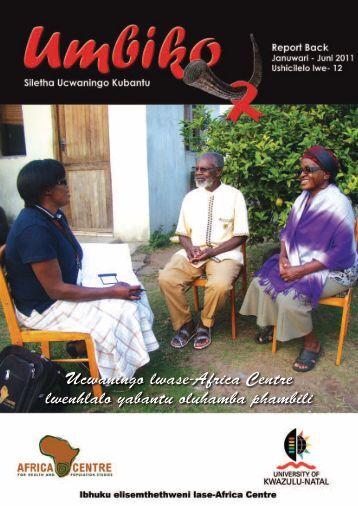 Ucwaningo lwase-Africa Centre lwenhlalo yabantu oluhamba phambili