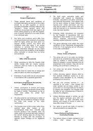 Vorlage für leeres Dokument / Verträge - L. Brüggemann KG