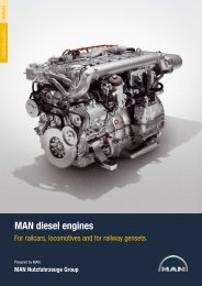 MAN diesel engines