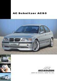 AC Schnitzer ACS3 - Kistler BMW