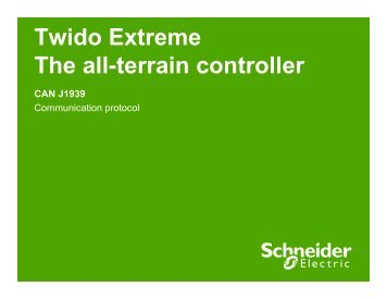 Twido Extreme The all-terrain controller CAN ... - Schneider Electric