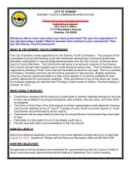 Youth Application Flyer 2012 to 13.pub - City of Downey