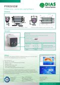 Overview infrared cameras PYROVIEW - DIAS Infrared Systems - Page 4