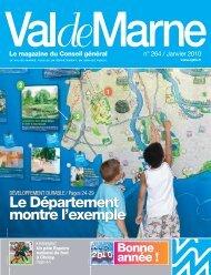 ValdeMarne n°264 / Janvier 2010 - Conseil général du Val-de-Marne