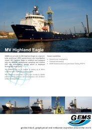 MV Highland Eagle - GEMS Group