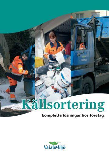 Källsortering - Företag - VafabMiljö