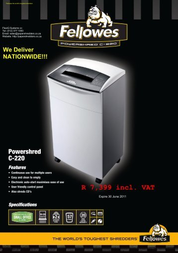 Powershred C-220.pdf - papershredders.co....