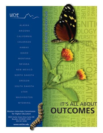 It's All About Outcomes - WICHE