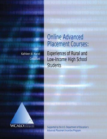 Online Advanced Placement Courses - WICHE