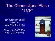 The Connections Place TCP - Borderline Personality Disorder