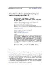 Parameter estimation of spinning binaries using MCMC - PubMan