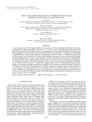 rates and characteristics of intermediate mass ratio ... - chgk.info