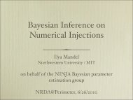 Bayesian Inference on Numerical Injections - chgk.info