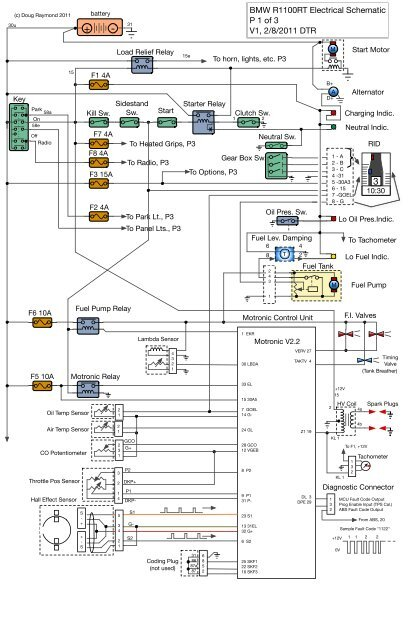 Astounding Bmw R1100Rt Electrical Schematic P 1 Of 3 V1 2 8 Mac Pac Org Wiring Digital Resources Llinedefiancerspsorg