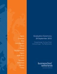 Graduation Ceremony 29 September 2012 - Business School ...