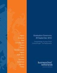 Graduation Ceremony 29 September 2012 - Business School ...