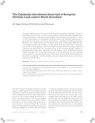 Geological Survey of Denmark and Greenland Bulletin 6, 41 ... - GEUS