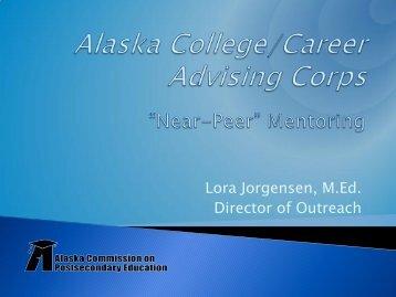 Alaska College/Career Advising Corps - WICHE