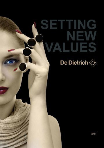 setting new values - De Dietrich