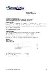 procès verbal du 02 mars 2012 - Montreuil-Bellay