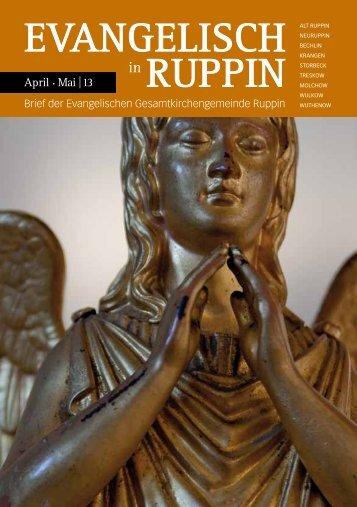 EVANGELISCH RUPPIN - Kirchenkreis Wittstock-Ruppin