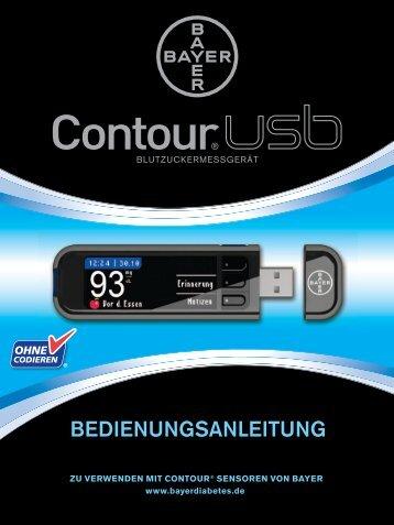 BEDIENUNGSANLEITUNG - Contour®USB