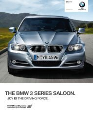 THE BMW 3 SERIES SALOON.