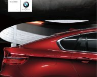 The new BMW X6 Sheer Driving Pleasure - Bmw.in