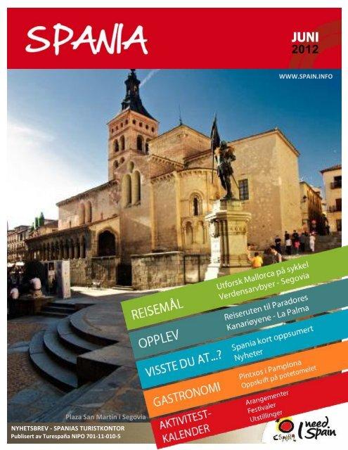 Nyhetsbrev: Juni 2012 - Spain
