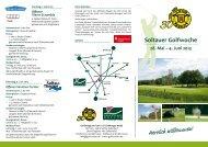 Soltauer Golfwoche 28. Mai – 4. Juni 2013 301982 – 2012