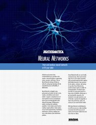 Flyer (Page 1) - Wolfram Media Center - Wolfram Research