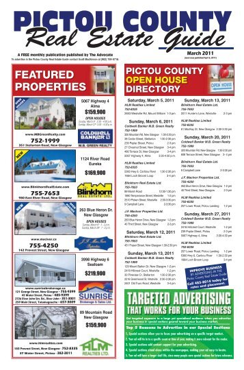 PCREG Mar 2011.pdf - The Pictou Advocate