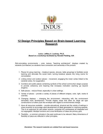 12 brain mind learning principles in action pdf
