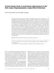 Geological Survey of Denmark and Greenland Bulletin 11 ... - GEUS