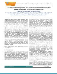 Generalized PWM algorithm for Direct Torque Controlled ... - ijcer
