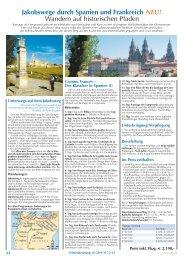 Jakobswege durch Spanien und Frankreich NEU ... - SKR Reisen